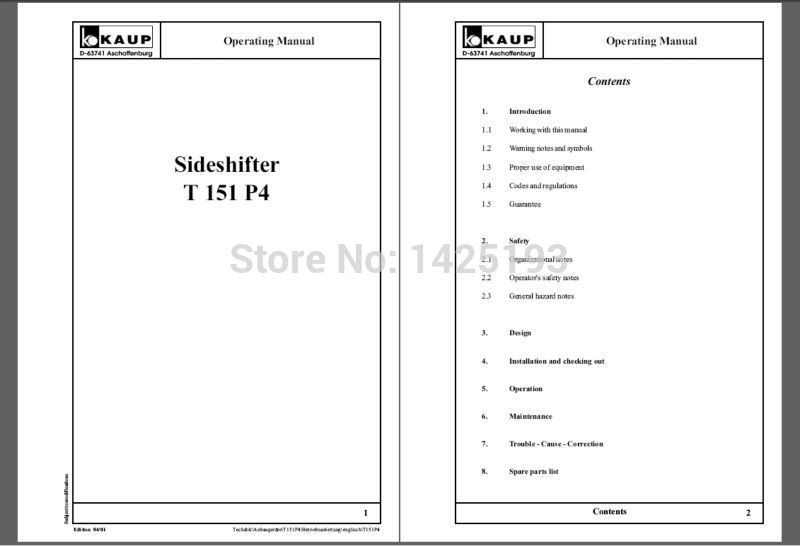 thermo king super ii parts manual