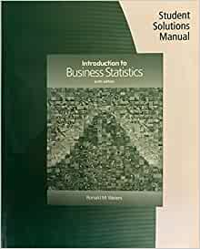 introduction to business statistics 7th edition solution manual
