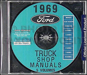 1989-96 ford bronco parts manual