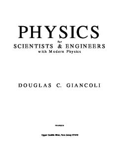 instructor solutions manual physics for scientists and engineers 2e pdf