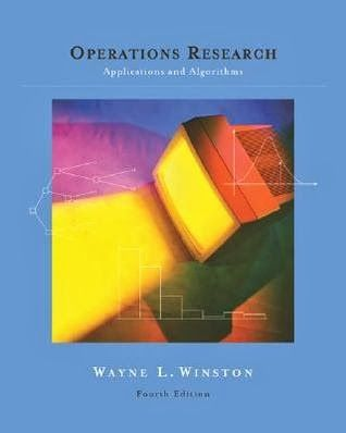 operations research applications and algorithms 4th edition solution manual pdf