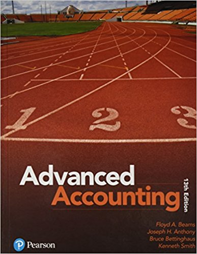 solution manual advanced accounting pearson 12th edition