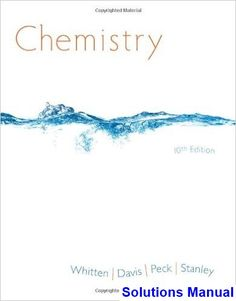 chemistry 9th edition whitten solutions manual pdf