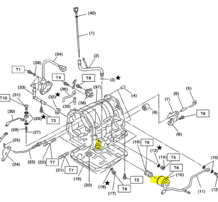 2011 subaru forester manual transmission parts