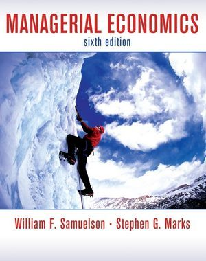 managerial economics samuelson 7th edition solutions manual