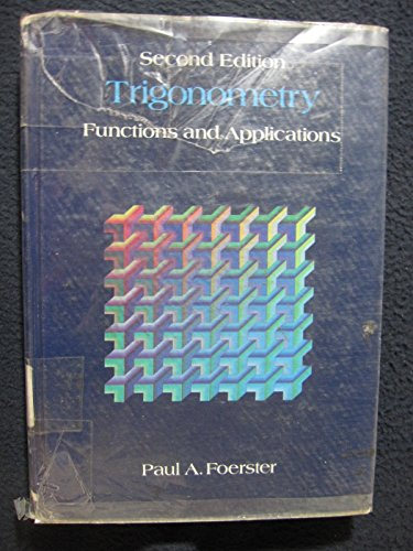 precalculus with trigonometry concepts and applications solutions manual