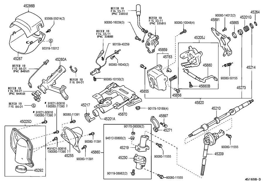 2003 toyota 4runner parts manual