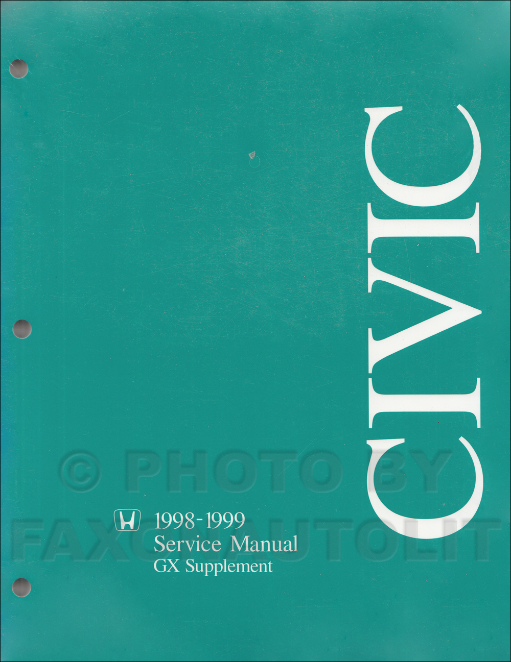 repair manual honda civic 1998
