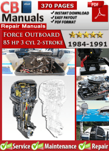 1989 force 85 hp outboard manual