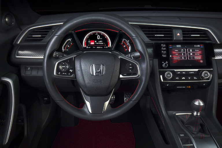 does the honda civic come in manual