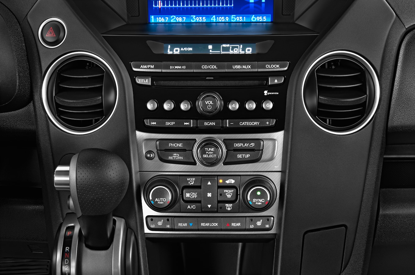 2013 honda pilot stereo manual