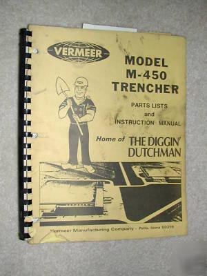 vermeer v1150 trencher parts manual